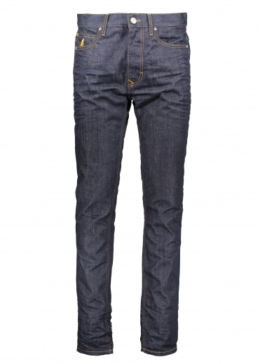 Vivienne Westwood Mens Classic Tapered Jeans - Blue Denim