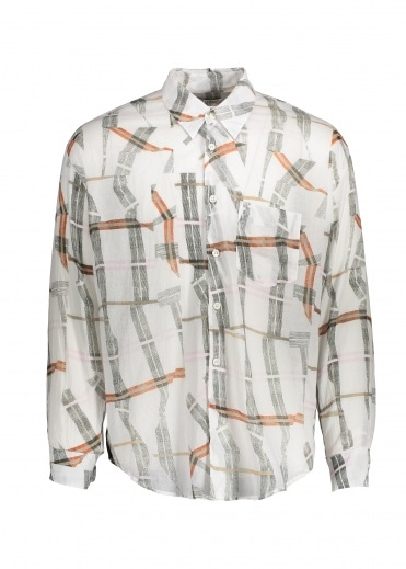 Our Legacy Coco Shirt - White Cracked Check