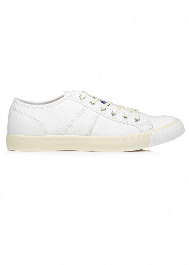 Colchester Rubber Co. Colchester Low Top - White