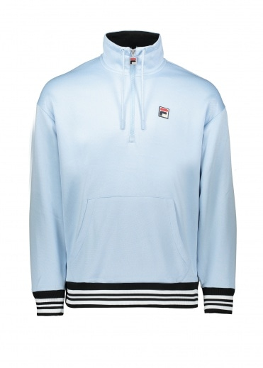 FILA Cole 1/2 Zip Funnel Sweat - Cashmere Blue