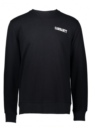 Carhartt College Script Sweat - Black / White