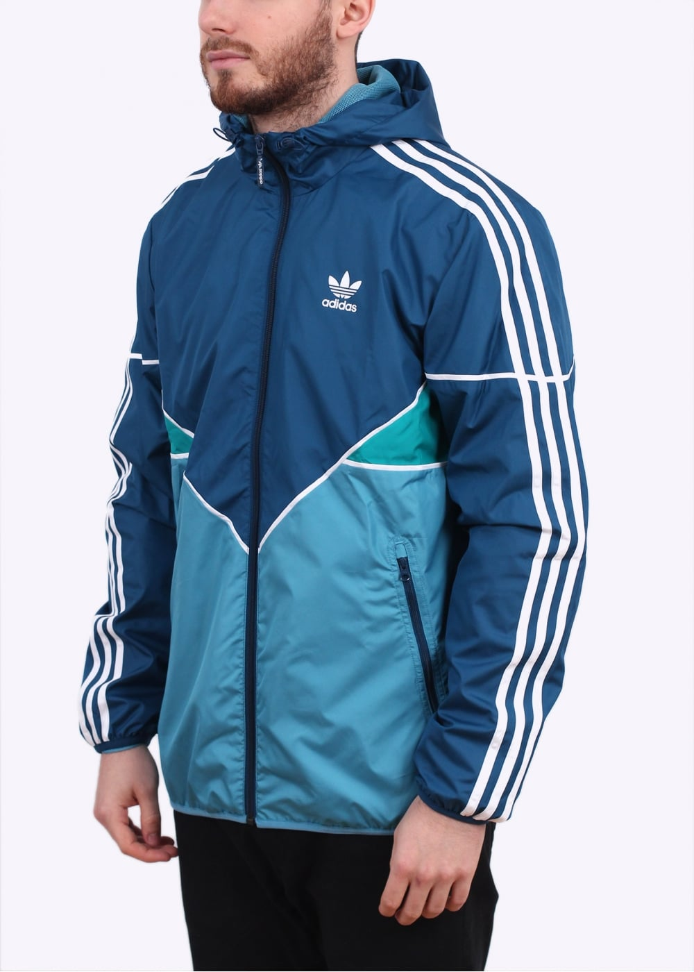 adidas originals colorado windbreaker light blue. Black Bedroom Furniture Sets. Home Design Ideas