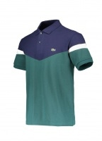 Colorblock Polo - Aconit / Navy