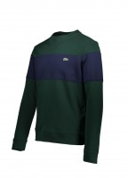 Colorblock Sweat - Sinople / Navy