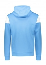 Colour Block Hoodie - Blue