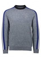 Colourblock Stripe Sweater - Navy
