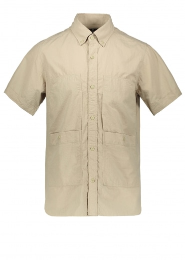 Snow Peak Cotton Rip Stop Shirt - Beige
