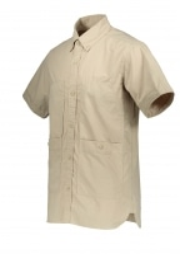 Snow Peak Cotton Rip Stop Shirt - Beige