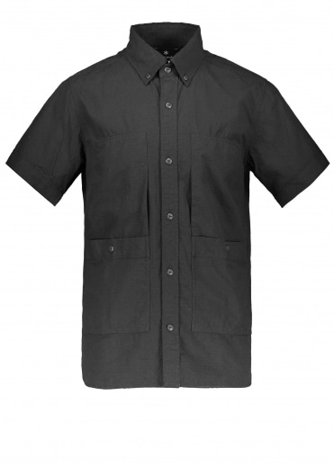 Snow Peak Cotton Rip Stop Shirt - Black