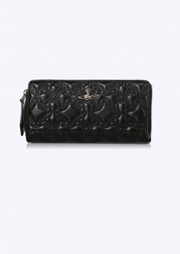 Vivienne Westwood Accessories Coventry Zip Round Wallet - Black