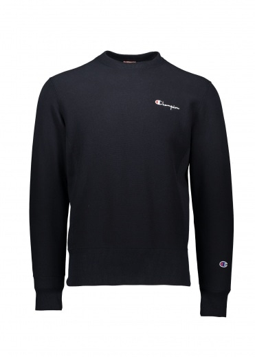 Champion Crew Logo Sweatshirt - Navy