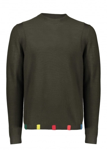 Paul Smith Crew Neck Pullover - Dark Green