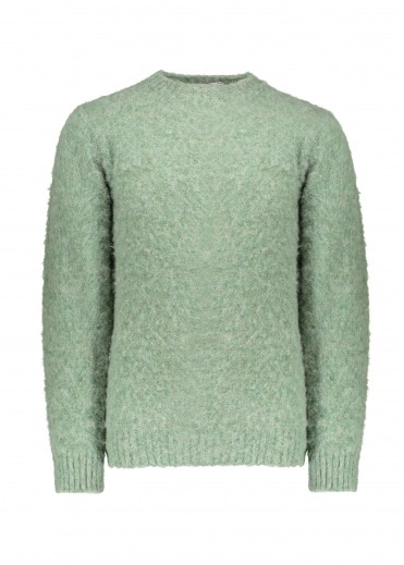 Shetland Woollen Co.  Crew Neck Pullover - Laurel