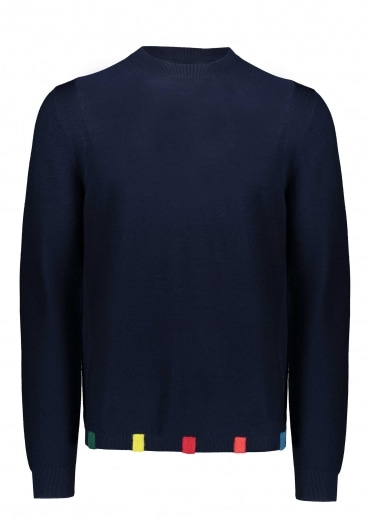 Paul Smith Crew Neck Pullover - Navy