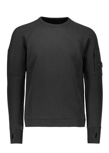 C.P. Company Crew Sweat - Black Coffee