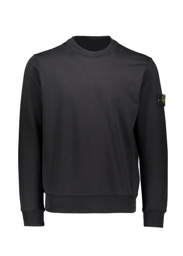 Stone Island Crew Sweat - Black