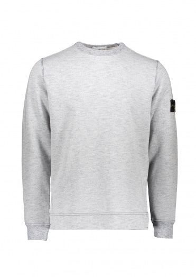 Stone Island Crew Sweatshirt - Sugar Grey