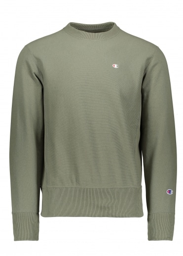 Champion Crewneck Sweater - Green
