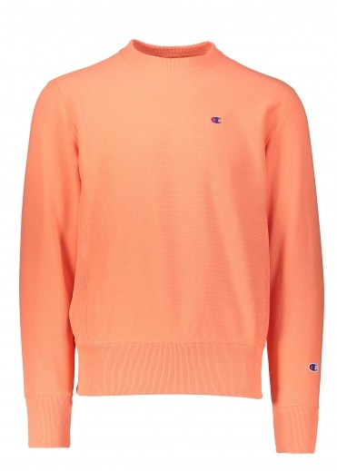 Champion Crewneck Sweater - Orange