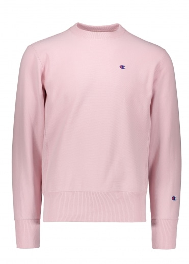 Champion Crewneck Sweater - Pink