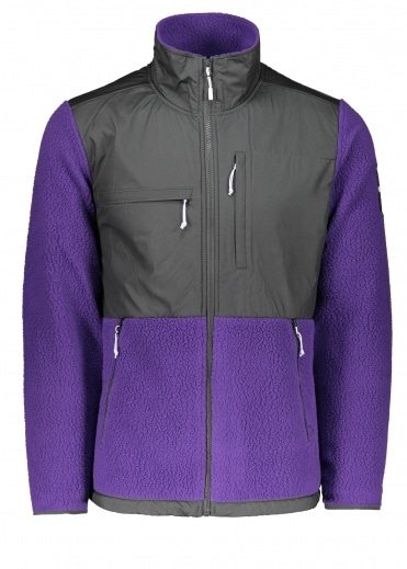 North Face Denali Fleece - Purple / Grey