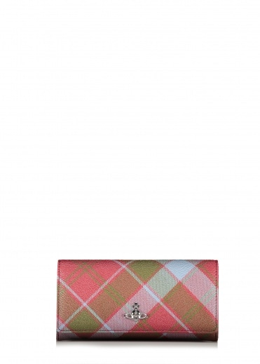 Vivienne Westwood Accessories Derby CC Wallet - Tartan