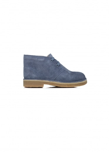 Clarks Originals Desert Boot Child - Denim Blue