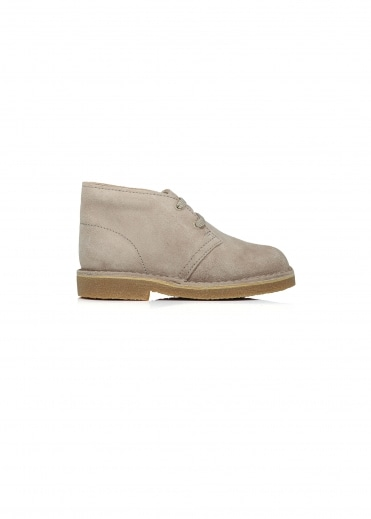 Clarks Originals Desert Boot Child - Sand Suede