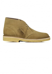 Clarks Originals Desert Boot - Olive Suede