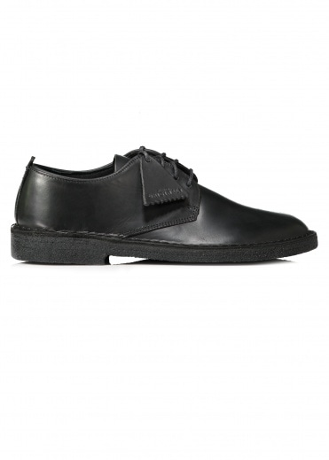 Clarks Originals Desert London - Black Polished