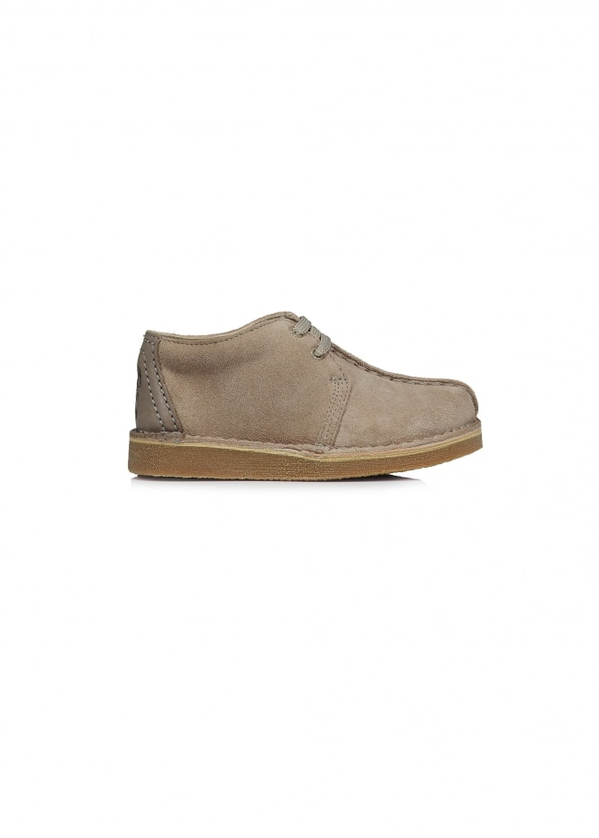 Clarks Originals Desert Trek Child - Sand Suede