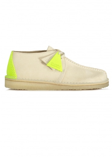 Clarks Originals Desert Trek Suede - Off White