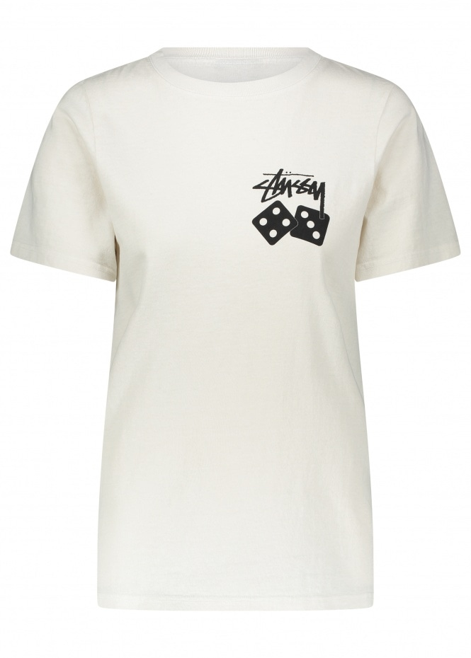 Dice Pig Dyed Tee - Natural