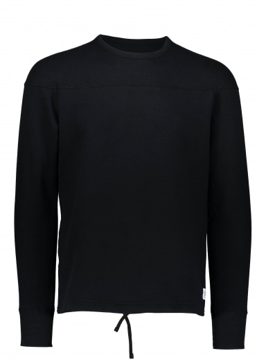 Reigning Champ Double Knit Crew - Black
