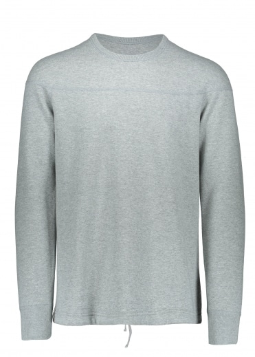Reigning Champ Double Knit Crew - Heather Grey