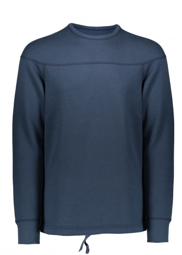 Reigning Champ Double Knit Crew - Steel