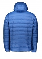 Down Sweater Hoody Pullover - Superior Blue