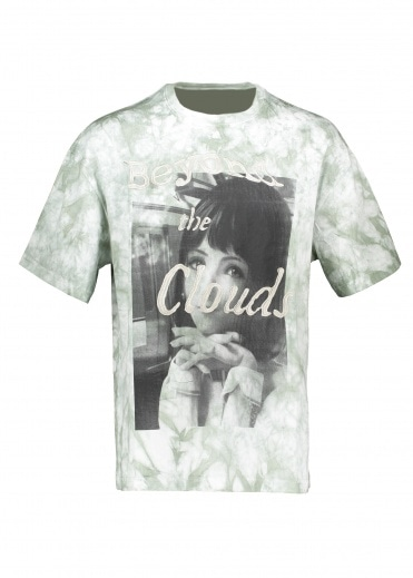 Perks and Mini Dreamy Eyes Tie Dye Tee - Cloud