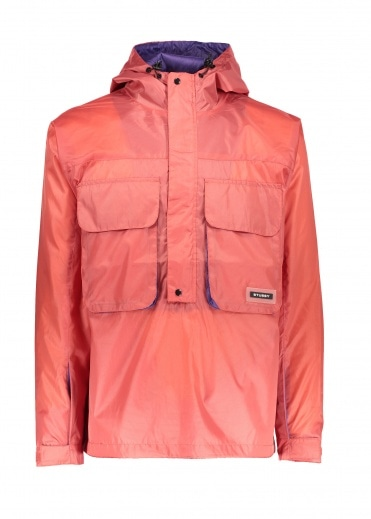 Stussy Drift Pullover Jacket Pink S