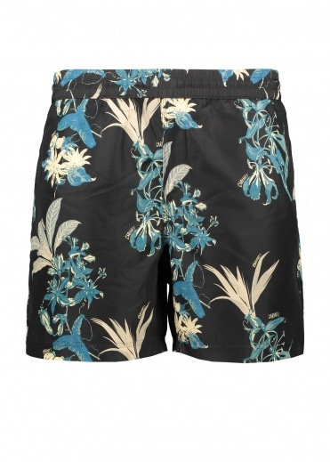 Carhartt Drift Swim Trunks - Hawaaiian Black