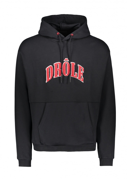 Drôle de Monsieur Drole Embroidered Hoodie - Black
