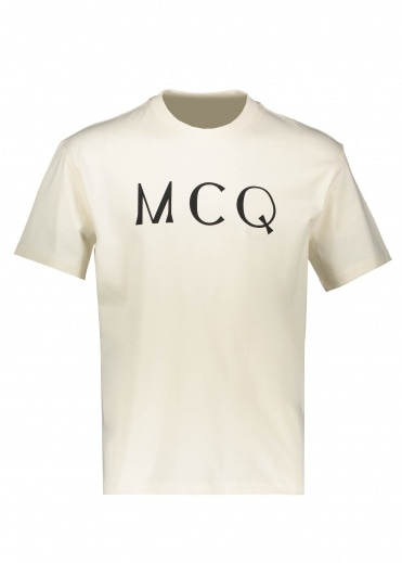 McQ by Alexander McQueen Dropped Shoulder SS - Oyster
