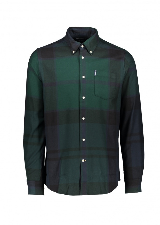 Dunoon Shirt Black - Watch Tartan