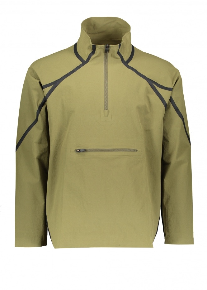 Snow Peak DWR Seamless Half Zip - Olive