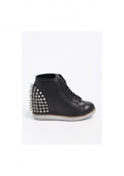 Edea Leather Boots - Black