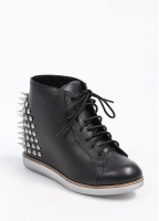 Edea Leather Boots - Black