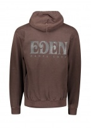 Eden Power Corp Eden Recycled Hoodie - Brown / Black