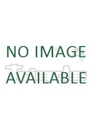 Embossed Logo Stud Earrings - Rhodium / Gold