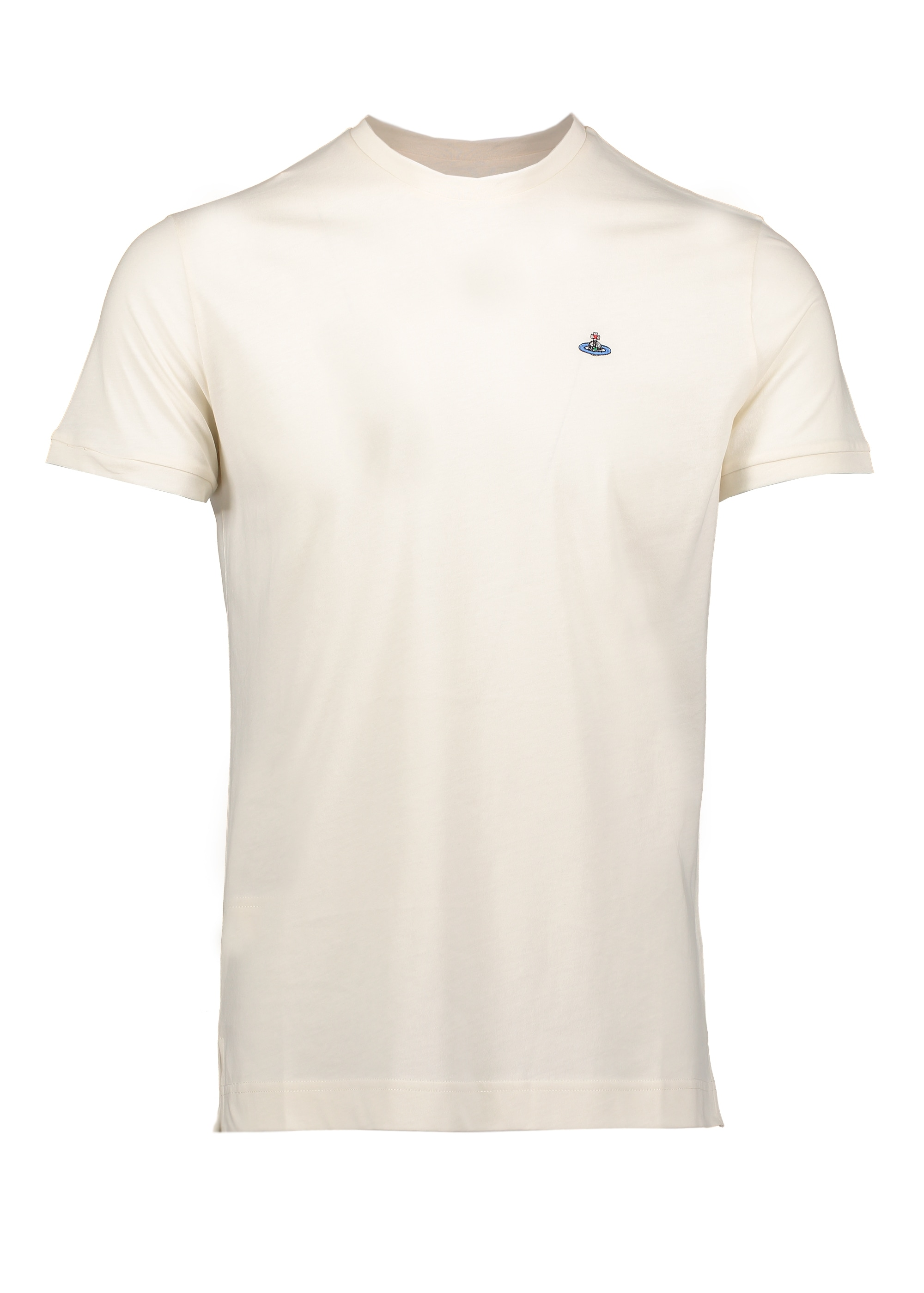 Embroidered Logo T Shirt Off White From Triads Uk