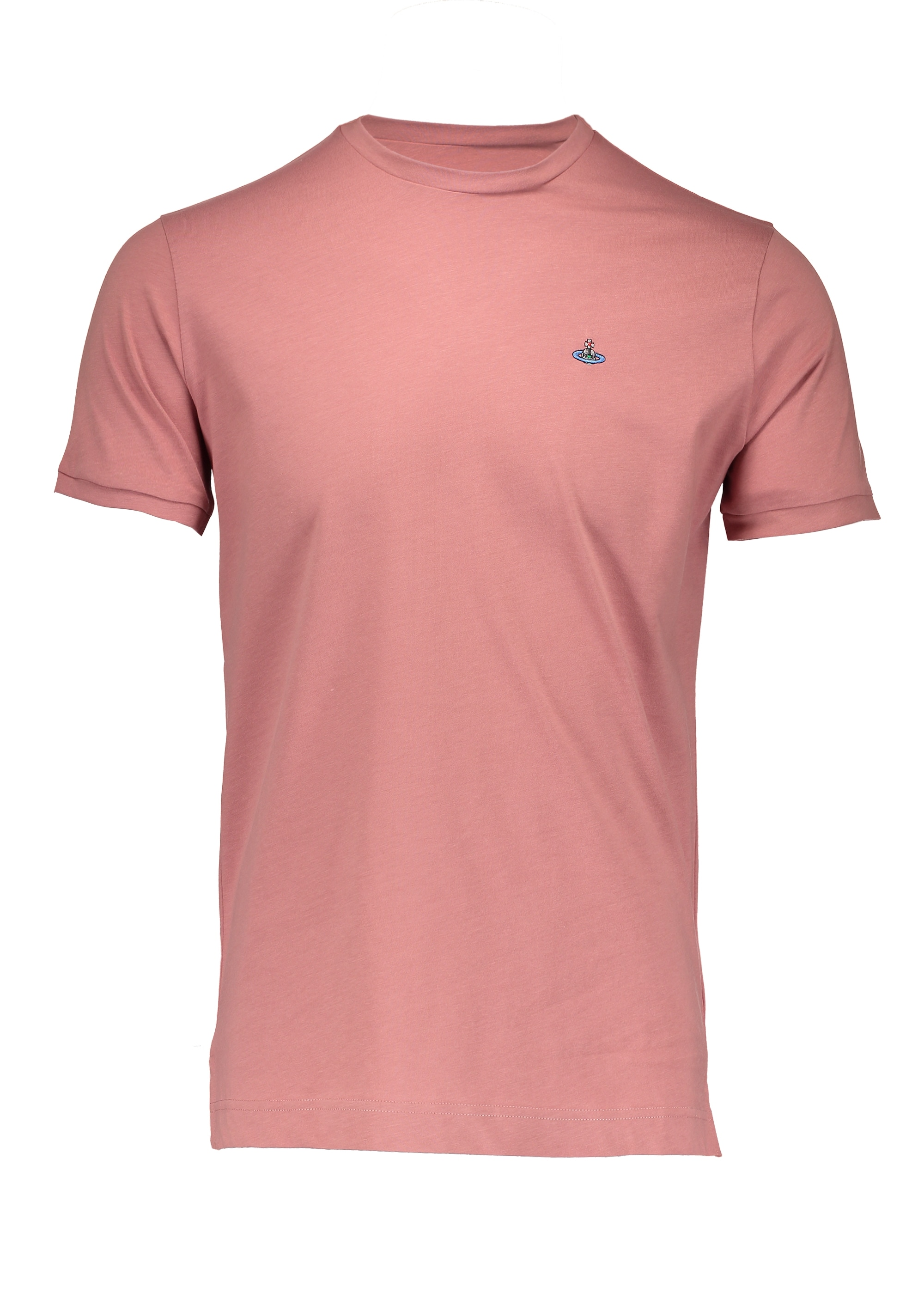 Embroidered logo t shirt pink from triads uk for How to embroider t shirts